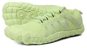 Women's Minimalist Barefoot Shoes Comfort Comfortable Running 4.5 Five Fingers Treadmill Low Zero Drop Trail Running Wide Toe Box for Female Lady Flat Heel Green US Size 10