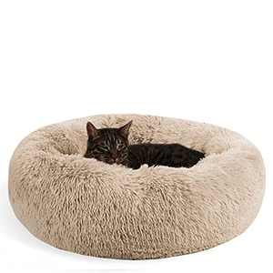 METCHIC Calming Dog Beds Large Dogs, Anxiety Dog Beds Medium Dogs, Dog Cuddler Beds Small Dogs, 24''