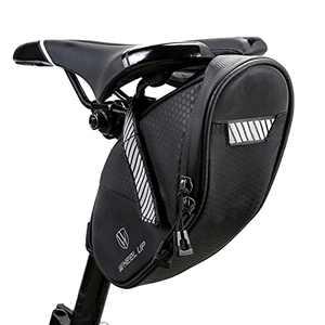 Pinprin Bike Saddle Bag Waterproof Bicycle Tail Bag Bike Under seat Storage Bag Outdoor Cycling Pouch for MTB Bike