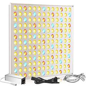 LED Grow Light, Roleadro 75W LED Grow Lights for Indoor Plants Full Spectrum Plant Growing Lamps for Seedling Blooming Fruiting