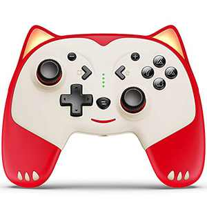 ESYWEN Switch Controllers for Nintendo Switch, Wireless Switch Controller with Wake-up for Nintendo Switch/Lite, Lovely Switch Pro Controller with Headphone Jack, Turbo, Motion Vibration Function
