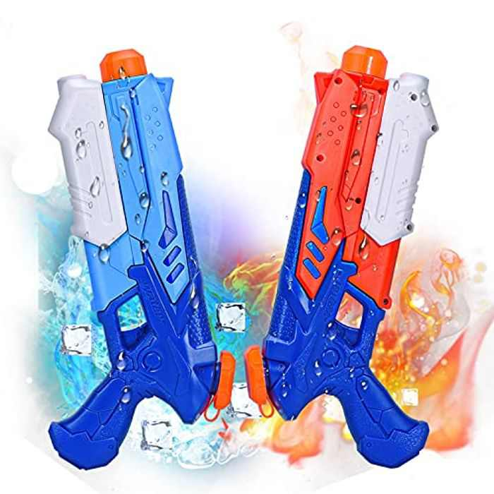 Joyjoz Water Pistol 2PCS Water Guns 400ML Water Blaster For Summer Outdoor Pool Beach Water Toys For Kids And Adults