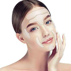 16 Pieces,Face wrinkle Patches, Reusable Anti-Wrinkle Pads for Face, Smooth Skin and Reduce Wrinkles Around Forehead, Eye, Mouth & Upper Lip