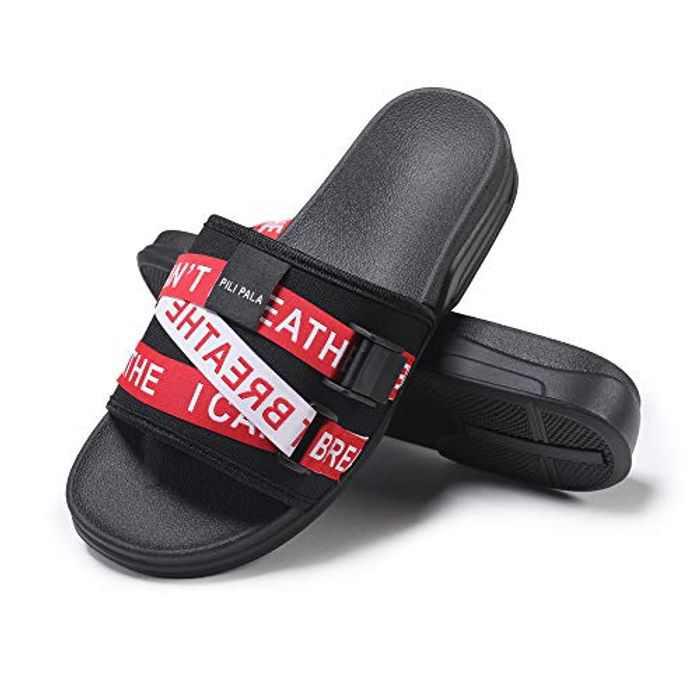 Mens Slides Beach Comfortable Sandas Platform Fashion Slip On Sandals Shower Shoes Pillow Slides for women