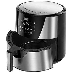 Ultima Cosa Air Fryer, 8.5QT Oil Free XL Electric Hot Air Fryers Oven, Programmable 9-in-1 Cooker with Preheat & Dryout,1700W … (8.5QT, gray)