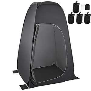 KingCamp Camping Shower Tent Pop Up Changing Tent Portable Dressing Room Privacy Tent for Portable Toilet Pop Up Pod with Carry Bag