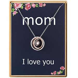 Mom I Love You Necklace for Women Necklace