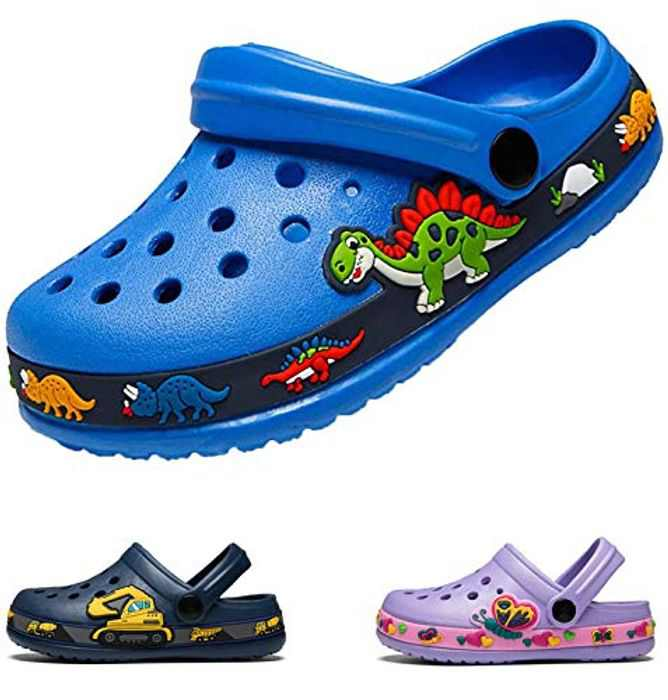 Kids Clogs & Mules for Children Boys and Girls, Slip On Water Shoes Non Slip Summer Sandals fo Garden Beach Pool Shoes