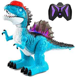 Dinoera Kids Dinosaur Toys for 5 6 7 8 9 10+ Year Old Boys - Remote Control Dinosaur Toys for Kids 3-5 Educational Jurassic World Dinosaur Robot w/ Lights Sounds Birthday Gifts for Boys Girls Age 4-8