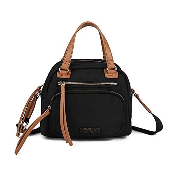 Crossbody Bag for Women,Nylon Shoulder Handbags Lightweight Waterproof Messenger Purse Multi Pocket Anti theft rfid Tote Bag