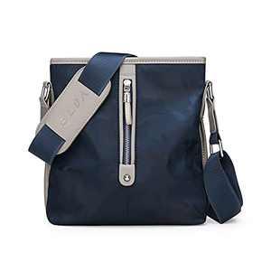 ELDA Messenger Crossbody Shoulder Bag for Men Briefcase Travel Nylon Man Purse Waterproof for Business Office Satchel Bags