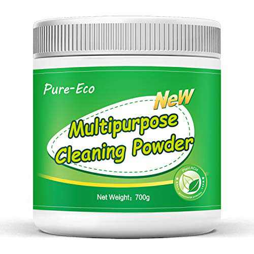 Maclees Powder Toilet Cleaner, Bowl Sparkle Toilet Bowl Cleaner Powder, Bathroom Toilet Tank Cleaner, Hard Water Stain Remover, for Stubborn Stain on Kitchen Sink And Washbasin, Multi-Purpose Household Cleaner