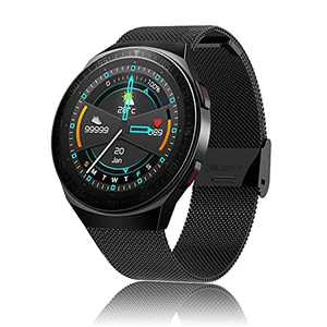 Smart Watch with Call, Business Sport Smart Watch for Men Women, 8GB Music Storage, Fitness Tracker with Heart Rate Blood Pressure SpO2 Sleep Monitor, Waterproof Smart Watch for Android iOS Phone