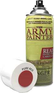 Army Painter PURE RED SPRAY PRIMER CAN