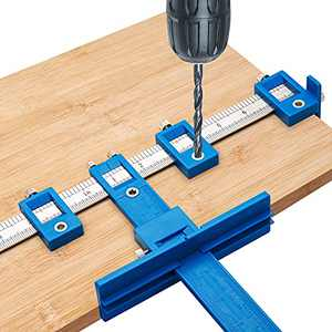 Cabinet Hardware Jig Cabinet Hardware Template Tool Cabinet Handle Jig for Installation of Handles Knobs on Doors and Drawer