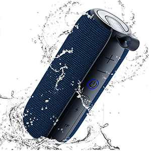 SANAG Portable Bluetooth Speaker, 360 HD Surround Loud Sound and Deep Bass, 25W Wireless Stereo Dual Pairing, IPX7 Waterproof, Bluetooth 5.0, 24H Playtime for Outdoors, Travel, Home and Party