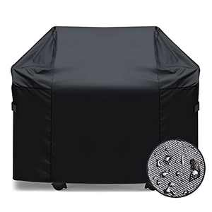 51 Inches 7139 Grill Cover Heavy Duty Waterproof BBQ Grill Cover for Brush, Tongs and Thermometer.Prefer Fit Weber Spirit Ii 300 Series, Spirit 300 Series and Spirit 200 Series