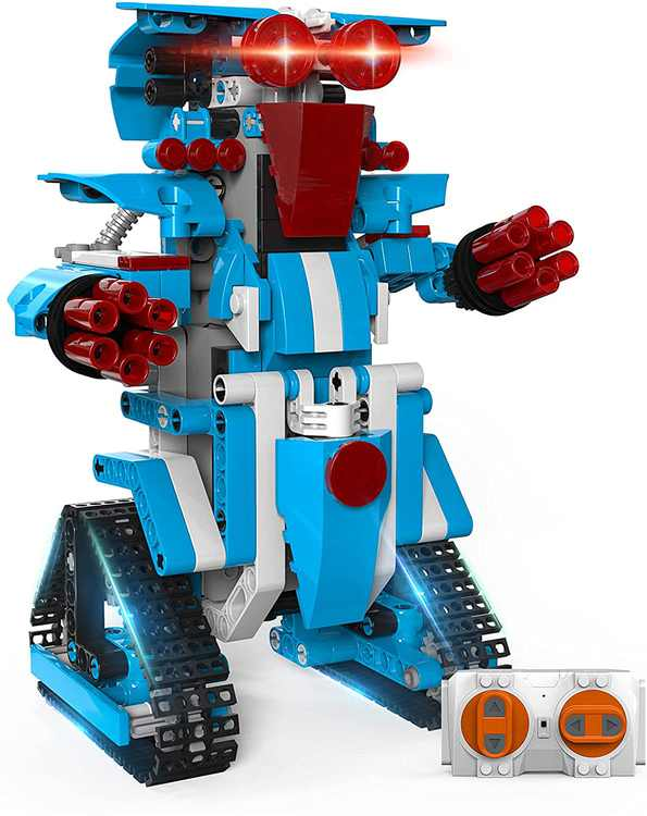 Henoda Toys for 7 8 9 10 11 12 Years Old Boys and Girls, RC Robot STEM Building Science Construction Educational Learning Toys for Kids, Christmas Birthday Gifts for Kids Aged 6-15 Years Old-358pcs