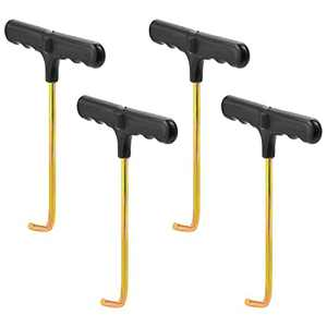 SUMERSHA 4pcs Trampoline Spring Pull Tools Adjustment T-Hook Puller Trampoline Accessories Spring Pull Kit