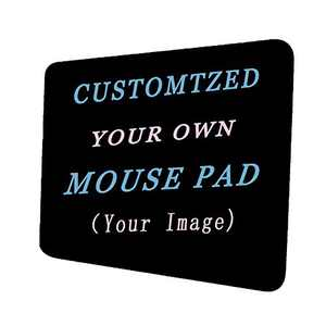 Custom Design Your Customized Non-Slip Mouse pad with Photo Text Logo for Gaming Office Personalized Gift Horizontal Style 2 8.3x10.3in
