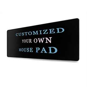 Custom Design Your Customized Non-Slip Mouse pad with Photo Text Logo for Gaming Office Personalized Gift Lengthen Style 4 31.5x11.8in