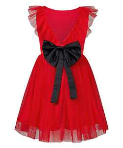 Girl Flower Dresses 5T Vintage Tutu Tulle Dance Gown Black Formal Party Puffy Dress One Piece Size 6