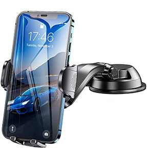 Phone Holder for Car, Car Cell Phone Mount Car Vent Phone Mount with Long Arm, Universal Smartphone Car Phone Holder