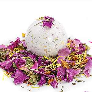 4Count Detox Yoni Handmade Bath Bombs for Women, Recovery PH Balance Mothers Day Spa Gifts Detox Bath Bombs 100% Natural Herbs V Steam Self Care(4pcs)