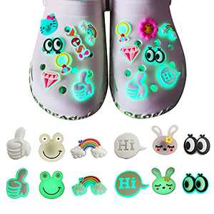 Bling Cartoon Croc Shoe Charms ,Christmas, Halloween, and Birthday Gift for men, Women and Children,Cartoon Shoes Accessories Can Decorate Your Shoes Make Your Shoes Cute Beautiful and Cool.