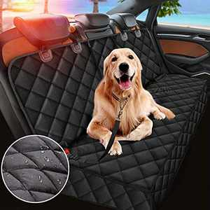 Dog Car Seat Cover, Dog Seat Cover for Back Seat, Nonslip Durable Pet Back Seat Bench Covers, Waterproof Pets Seat Covers for Trucks and SUVs
