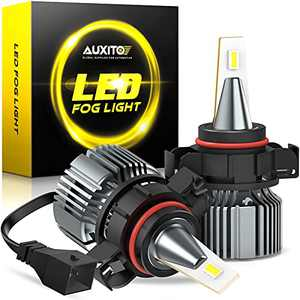 AUXITO PSX24W LED Fog Light Bulbs, 2504 LED Fog Bulbs, 6500K Cool White 4000LM Xtreme Bright, 12276 Halogen DRL Replacement for Impreza, Chrysler, Subaru, Super Penetration, Pack of 2