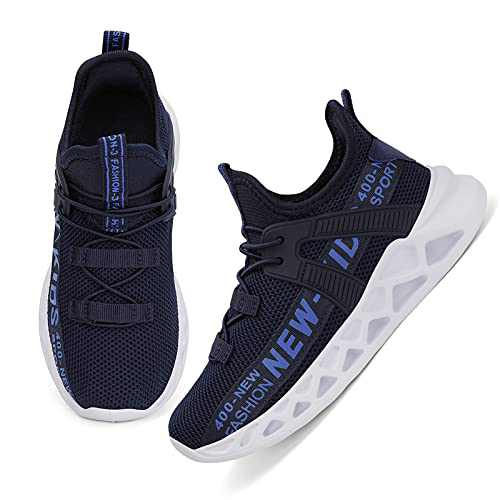Boys Shoes Kids Sneakers Boys/Girls Runnig Shoes Cute Girls'/Boys' Athletic Shoes Size Blue