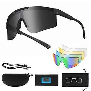 Polarized Cycling Glasses for Men Women,Sport Sunglasses for Driving Biking