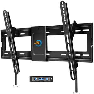 """JUSTSTONE Tilting TV Wall Mount Bracket for Most 32""""-80"""" LED LCD OLED 4K Curved Plasma Flat Screen TVs,Tilt Mounting with VESA 600x400mm Holds up to 165 LBS,Low Profile and Space Save"""