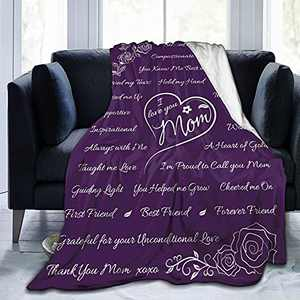 You Helped Me Grow to The World You are A Mom Dad But to Our Family You are The World Throw Blanket Fathers Mothers Day Gifts-50 x40