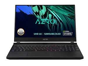 "GIGABYTE AERO 15 OLED KD - 15.6"" UHD 4k AMOLED IPS, Intel Core i7, NVIDIA GeForce RTX 3060 Laptop GPU 6GB GDDR6, 16GB RAM, 512 GB SSD, Win10 Pro, Creator Laptop (AERO 15 OLED KD-72US623SP)"