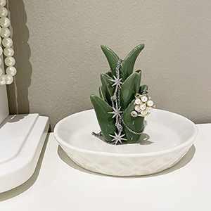 Ceramic Cactus Ring Holder (Aloe)