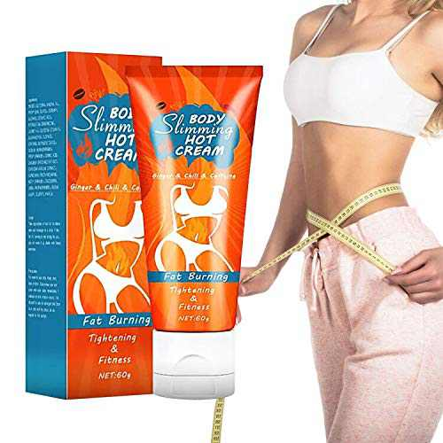 Hot Cream, Cellulite Slimming and Body Fat Burning Cream Weight Loss Serum Treatment Deep Tissue Massage for Shaping Waist, Abdomen and Buttocks