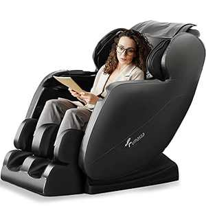 2021 New Massage Chair, Zero Gravity Full Body Massage Chair, Hip Vibration, Airbag Finger Back Heating, Home/Office Foot Roller, 3 Year Warranty