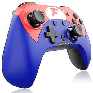 [2021 Newest Version] Wireless Pro Controller for Latest 12.1.0 System Switch Console,FOCOLABU Programmable Pro Controller Remote Gamepad Joypad Joystick for Switch Console