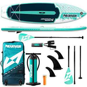 Drariver Paddle Board,Inflatable Stand Up Paddle Boards for Adults,Stand Up Paddleboard Inflatable,SUP Paddle Board Accessories,Fiberglass Paddle Standup Paddle Board Anchor,Blow Up Paddle Board Pump