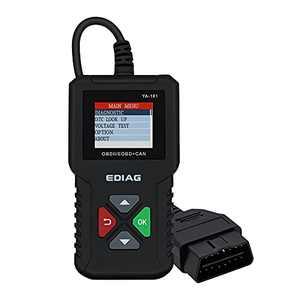 """Mcbazel OBD2 Scanner Enhanced Car Engine Fault Code Reader - Live Data/ Battery Test/ DTCs Lookup/ Support 9 Languages/1.8"""" TFT Color Display, CAN Scan Tool"""