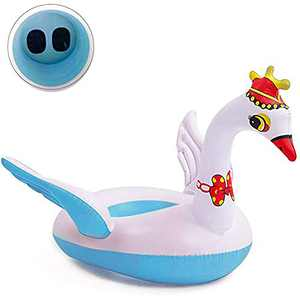Baby Pool Float for Infants, 2021 Upgrade Safety Approved Pool Floats, Leakproof Waist Ring Baby Swimming Float Pool Toys Bathtub Swim Trainer for The Age of 3-72 Months, Swimways Spring Float Blue