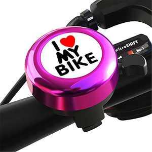 Bicycle Bell for Handlebars Kids, Bike Bell, Bicycle Bell, Bike Bells for Kids Adults, Bike Bells for Girls, Loud Crisp Clear Sound