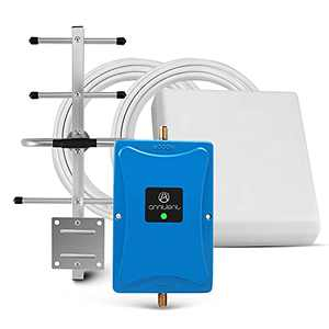 Verizon 4G Cell Phone Signal Booster for Home and Office-Enhance Your 4G Data Speed Over LTE 700MHz Band 13 Cellular Signal Repeater with Panel/Yagi Antennas-FCC Approved
