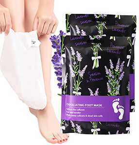 Foot Peel Mask, Foot Mask For Dry Cracked Feet, Dead Skin & Calluses, Make Your Feet Baby Soft