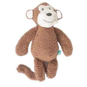 ARZAREL Dog Chew Toys, Squeaky Dog Plush Toys,Toys Suitable for Small,Medium,Large Breed (Monkey Shaped)