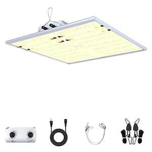 LED Grow Light - SMATFARM Growing Lamps Full Spectrum dimmable 240Watts Two LED Channels Indoor Planting Lights