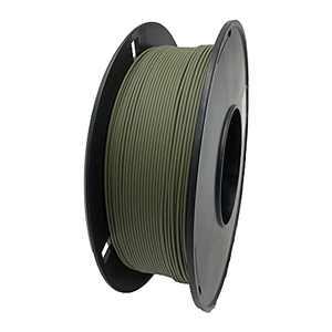 Matte PLA Filament 1.75mm, 3D Printing Filament, Dimensional Accuracy +/- 0.03 mm Fit Most FDM 3D Printers, 1kg (2.2lbs), Olive Green