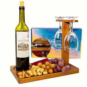 GIFTDANICA Popular Thanksgiving for Women - Gifts for Her, Like Our Wine Rack's, are Fun Wine Gifts for Women,Unique Gifts for Women Who Have Everything. Glasses Not Inc
